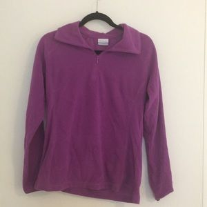 Columbia sportswear quarter zip fleece
